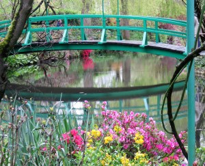 Monet's garden reflection