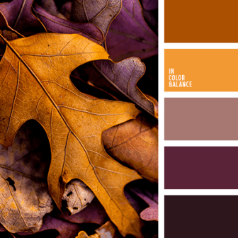 Fall Color Scheme