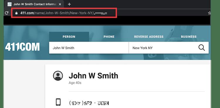 411.com information listing