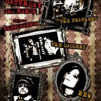 THE GAGGERS @ The Wheelbarrow - Camden, London Sat 16th March
