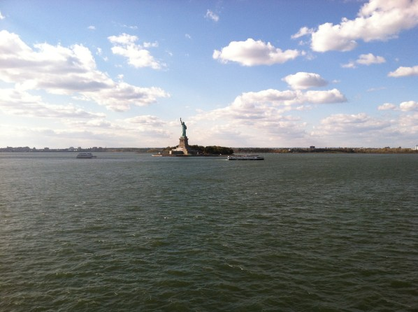 Lady Liberty, she's much smaller than you would imagine her to be!