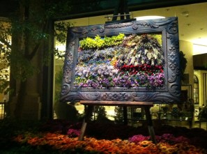 Monet in Flowers (taken at the Bellagio Conservatory)