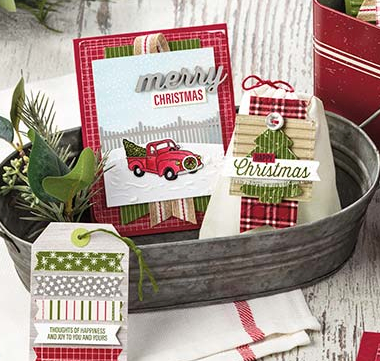 Stampin Up Farmhouse Christmas Bundle Post By