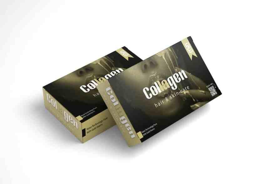 كولاجين بذرات الذهب للقضاء على تجاعيد البشرة وزيادة نضارتها