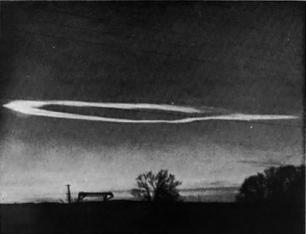 Сверхъестественное облако, образованное семью Ангелами 28 февраля 1963 года над Аризоной.