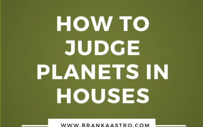 How to judge planets in houses
