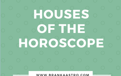 Houses of the horoscope
