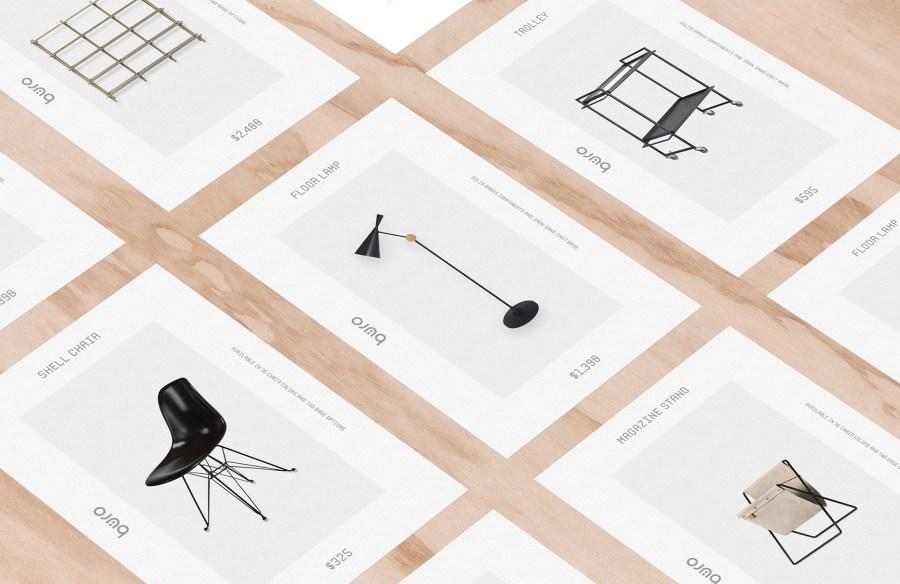 Furniture Visual Identity Design