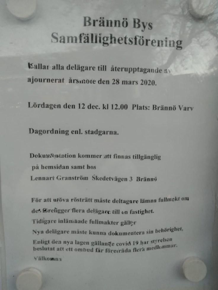 Kallelse årsstämma (3) Tim Borg Lennart Granström