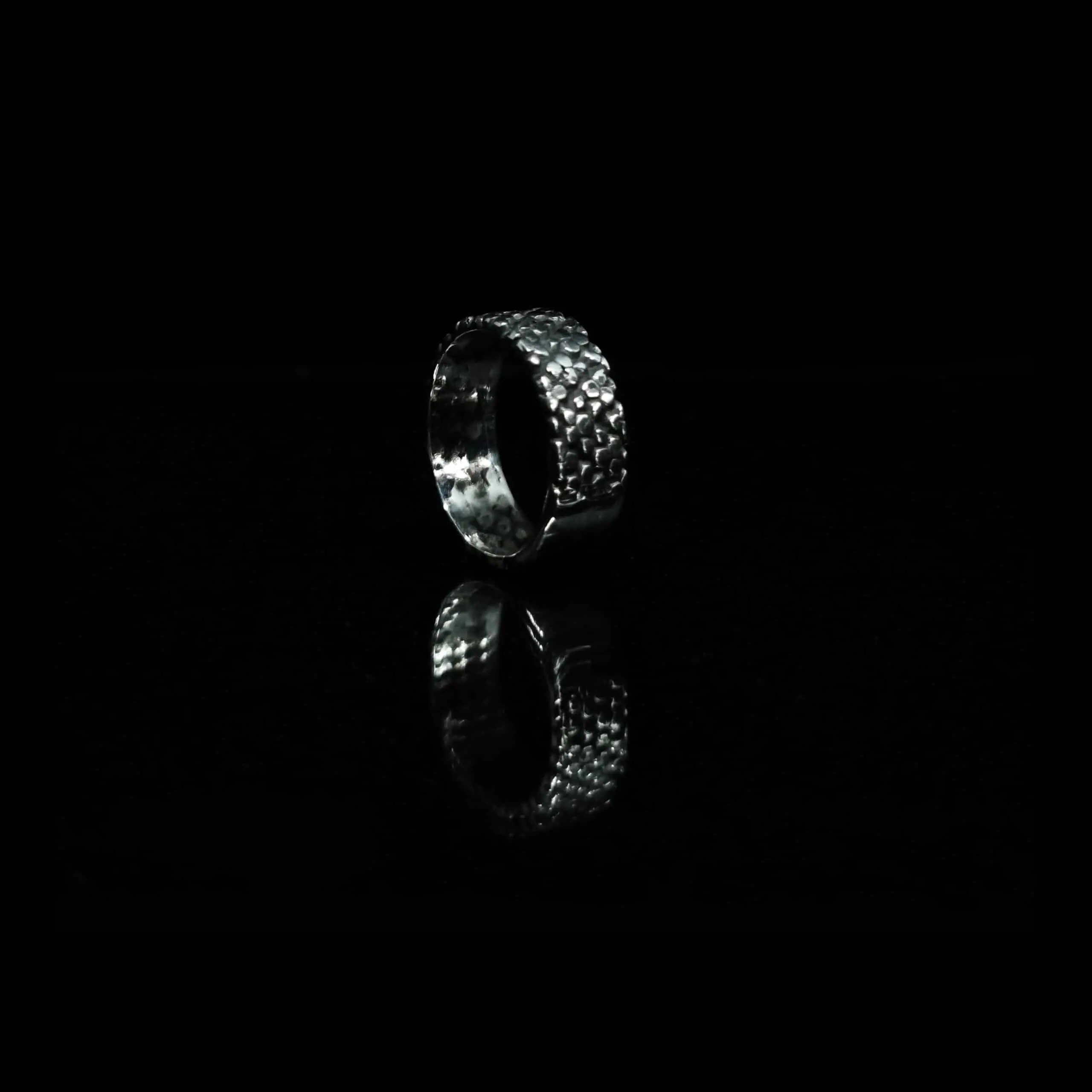 BRANS - handcrafted silver jewelry - Hexa Gon ring