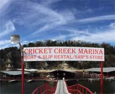Cricket Creek Marina On Table Rock Lake a Full Service Marina Branson Area