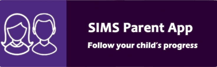SIMS Parent link to https://www.sims-parent.co.uk/
