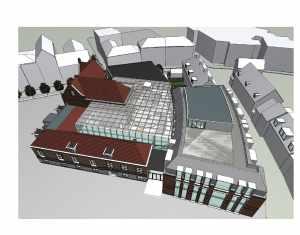 Feestelijke opening gemeentehuis Wageningen
