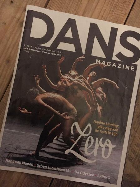 Bransz is ambassadeur van Dans Magazine