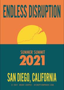 Endless Summer Poster w/ cracked Sun