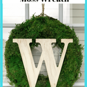 Easy DIY Moss Wreath - Easy DIY Moss Wreath