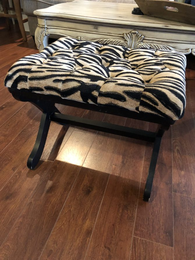 IMG 2956 768x1024 - DIY Tufted Stool Makeover