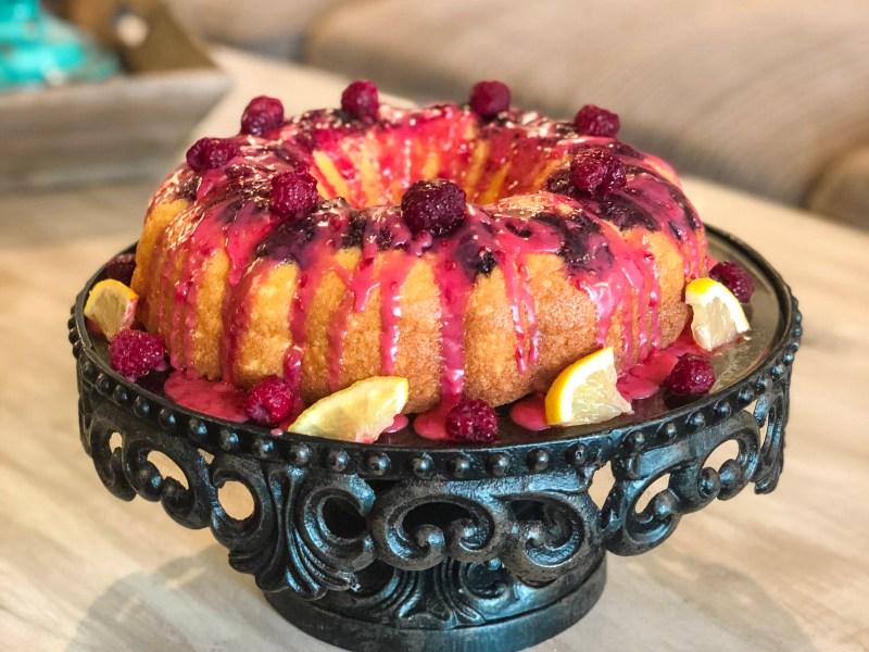 IMG 3291 - Lemon Raspberry Bundt Cake