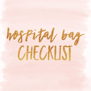 IMG 5565 - Hospital Bag Checklist