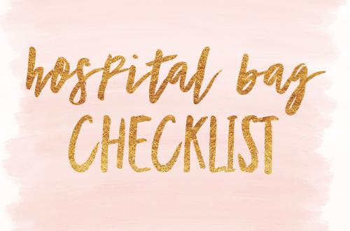 IMG 5565 - Hospital Bag Checklist