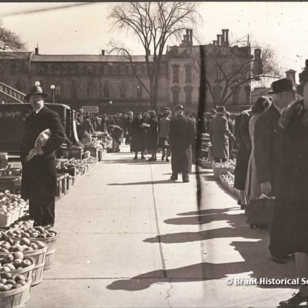 Farmer's Market Brantford c. 1940