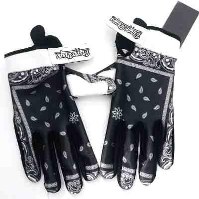 Black Bandana MX Gloves