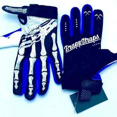 Purple Strangler MX Glove by Brapp Straps