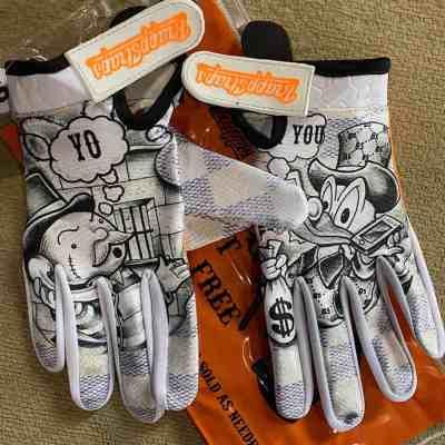 Get Outta Jail Free MX Gloves by Brapp Straps