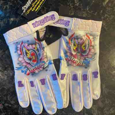 Live Fast MX Gloves MX Gloves by Brapp Straps