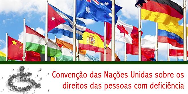 Convenção das Nações Unidas sobre os direitos das pessoas com deficiência