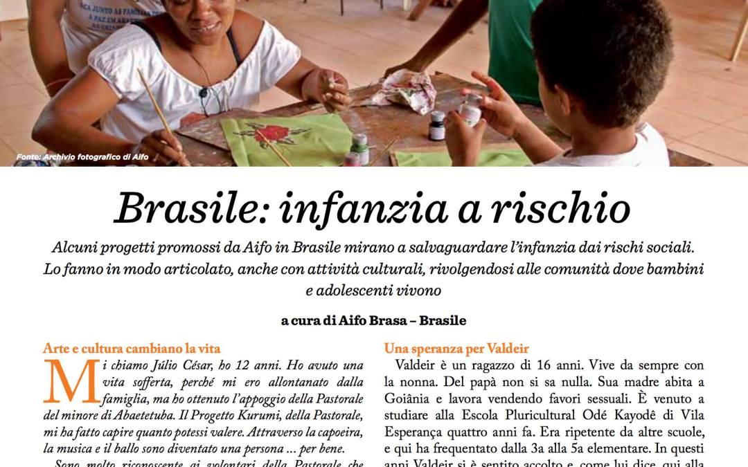 As histórias de Valdeir e Júlio César na revista da AIFO