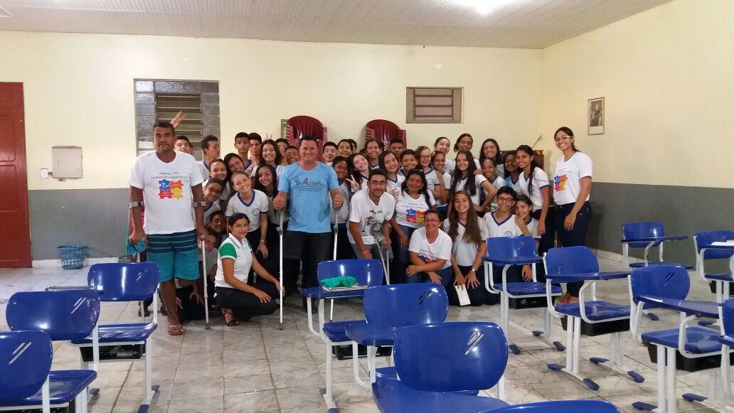 Encontros nas escolas – ADEFIS, Santarém