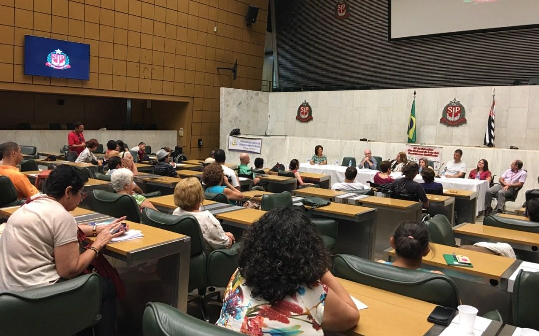 Pessoas com deficiência debatem mobilidade no Parlamento