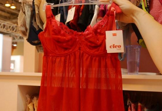Cleo Kali Babydoll Red Cerise
