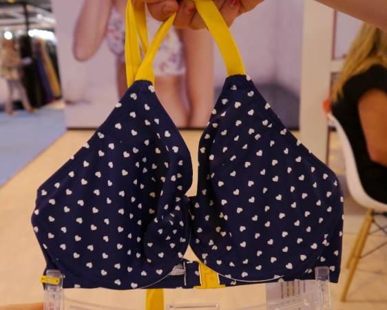 Cleo Swim by Panache Leena Blue Yellow