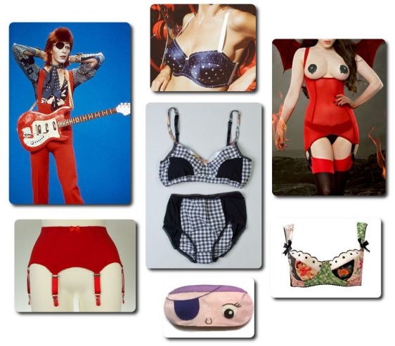 David Bowie - Halloween Jack Inspired Lingerie
