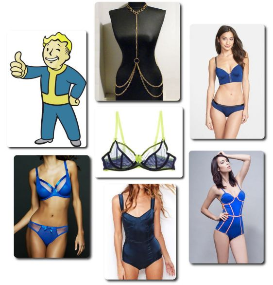 Fallout Inspired Lingerie - Vault Boy