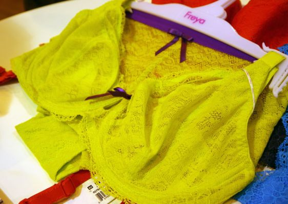 Freya Fancies Plunge Bra in Lime Punch (Freya AW16)