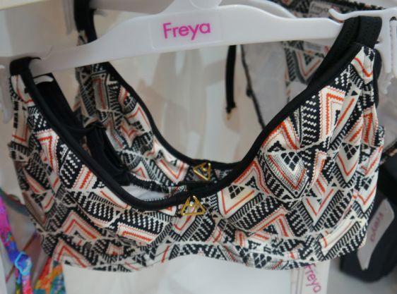 Freya Swim Sphinx Plunge Bikini Midnight Ember