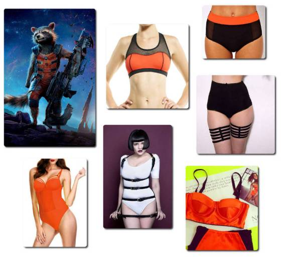 Guardians of the Galaxy - Rocket Raccoon Lingerie
