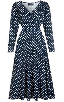 Lady V London Polka Dot Lyra Dress