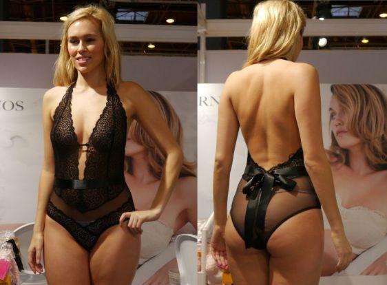 Lepel London Sophia Body in Black (Lepel London AW16)