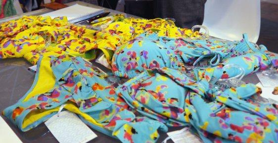 Lepel Swim Sunset Aqua Print Multi and Yellow Print Multi