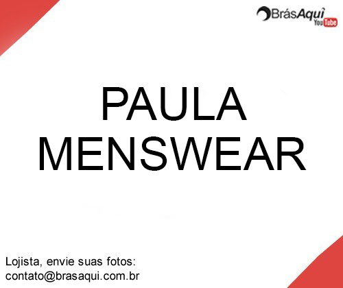 Paula Menswear Fashion