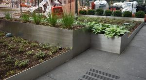 Stainless Steel Planter Box