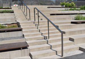 Bleacher Stair Rails