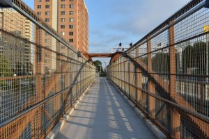 Webnetting w/ Stainless Steel Handrail