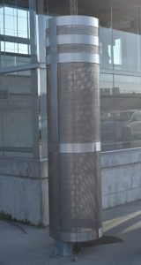 Stainless Steel Perforated Protective Covering