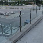Outdoor Glass Mezzanine