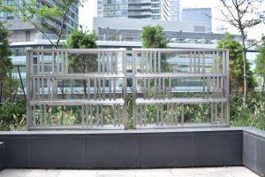 Glass & Stainless Steel Windscreen